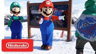 Mario, Luigi and Friends Visit Whistler Blackcomb