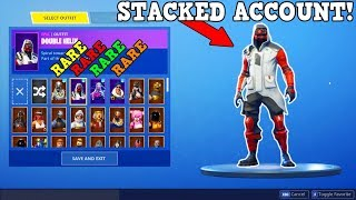 THE MOST STACKED FORTNITE ACCOUNT! (RAREST SKINS!) | Fortnite Battle Royale!