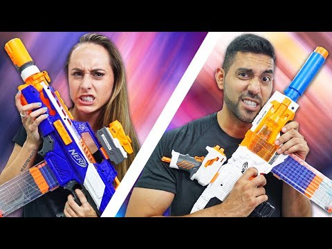 Thumbnail: NERF Build Your Weapon Challenge! [Ep. 5]
