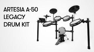 Artesia Legacy A-50 Electronic Drum Kit Demo
