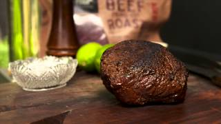 Barbecued Beef with Avocado Cream - Annabel Langbein