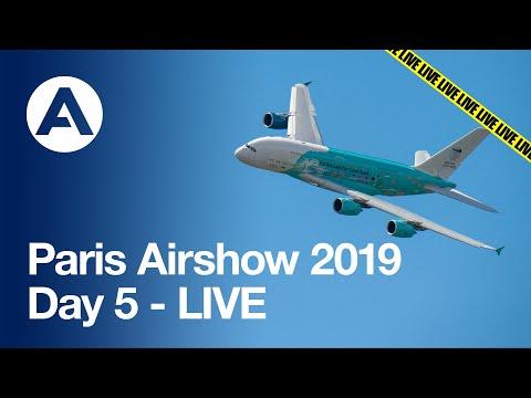 Paris Airshow 2019: Day 5 - LIVE