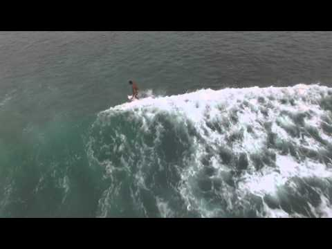 Drone, Surf in Sumatra, Pulau Weh, Tribute to GAIA