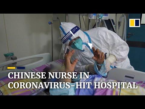Nurses battle against coronavirus outbreak in China