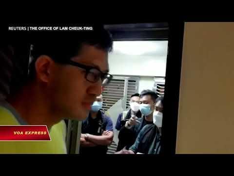 2 nhà lập pháp Hong Kong bị bắt liên quan tới các cuộc biểu tình 2019 (VOA)
