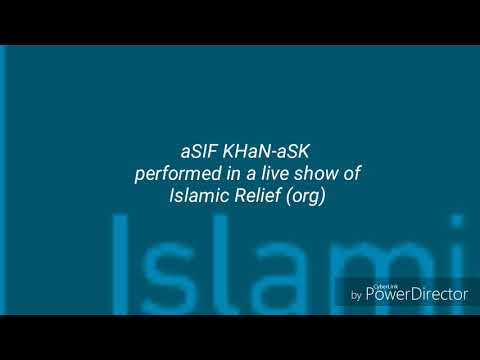 Live performance by aSIF KHaN-aSK under Islamic Relief org in Malaysia Bukit Bintang