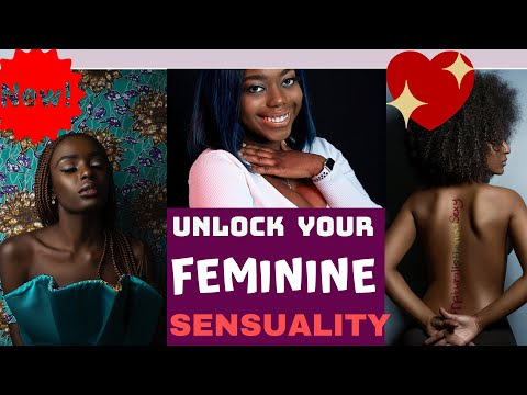 5 Ways to Unlock Your Sensual Side 🖐😍(( And Be More confident in Your Body))