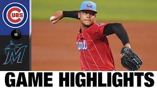 Cubs vs. Marlins Game Highlights (8/15/21)