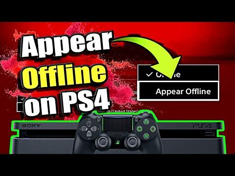 How to appear OFFLINE PS4 and LOGIN offline (Best Method)