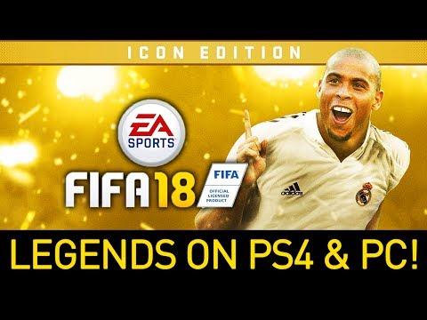 FIFA 18 'RONALDO' EDITION & LEGENDS ON PS4!