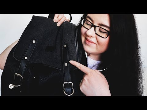 ASMR Whats In My Bag (Swedish Whisper)