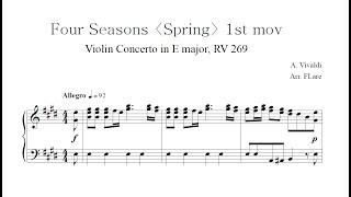 Vivaldi Four Seasons Spring 1s…