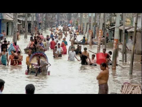 Natural disaster ... flood affected people in bangladesh
