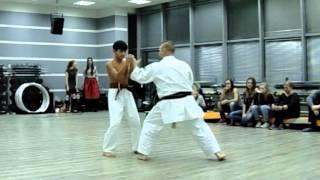 Uechi Ryu Karate do Shohei ryu Demonstration children.