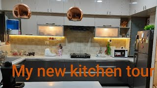 #My kitchen tour# How I organise and clean my kitchen#indian kitchen