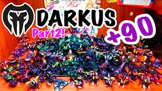 FULL DARKUS+90 COLLECTION | #SemanaDeLaColeccion | Bakugan Planet | Darkus Parte 2 | #Darkus