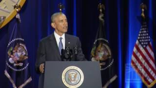 No foreign terrorist attack on homeland in 8 years | Obama gives farewell speech