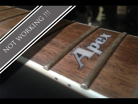 How to repair/upgrade your guitar- Ibanez Apex2 + testing