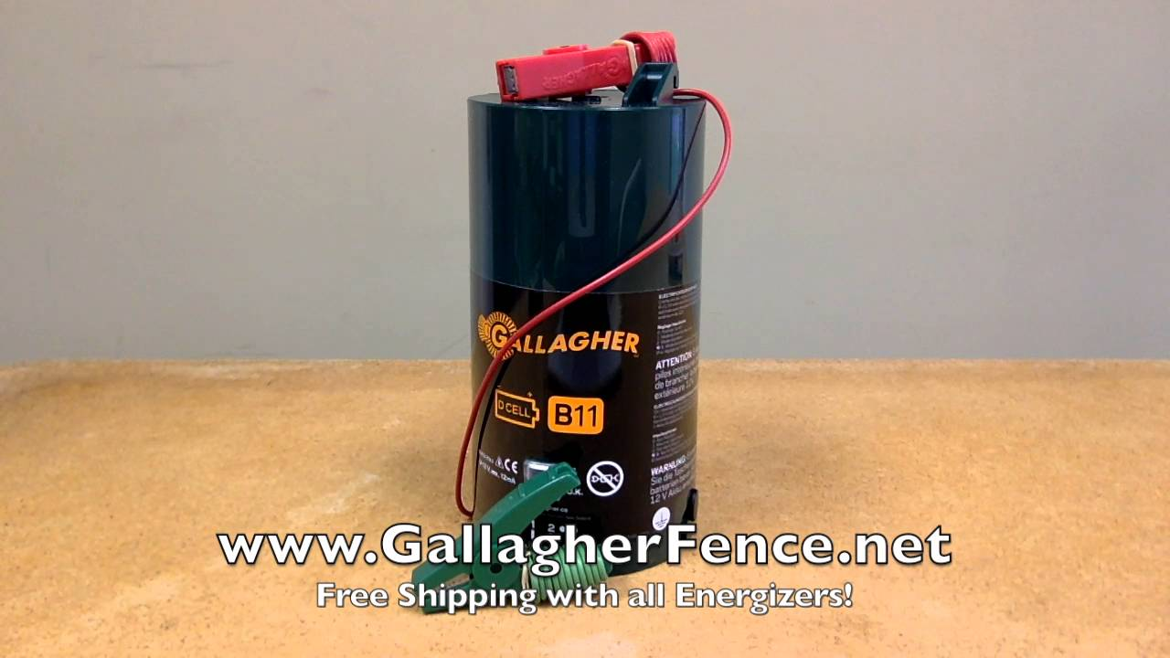 CARGADOR GALLAGHER B11 (PORTAFENCE) - Ener-Tec
