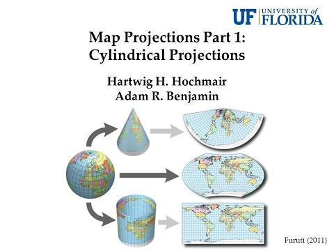 Map Projections Part 1: General Information & Cylindrical Pr
