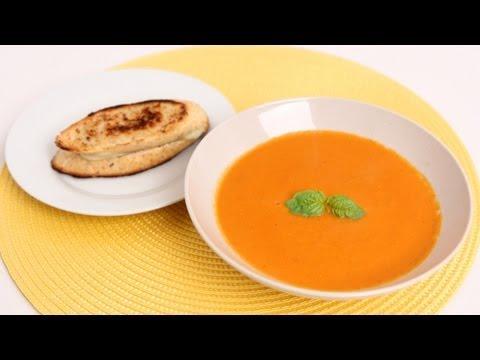 Fresh Tomato Soup Recipe - Laura Vitale - Laura in the Kitchen Episode 627