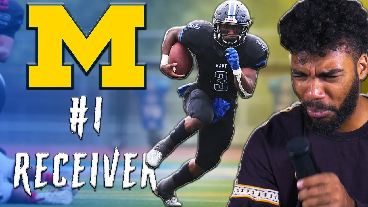 Michigan's #1 Receiver Recruit Is A PLAYMAKER!!! l Sharpe Sports