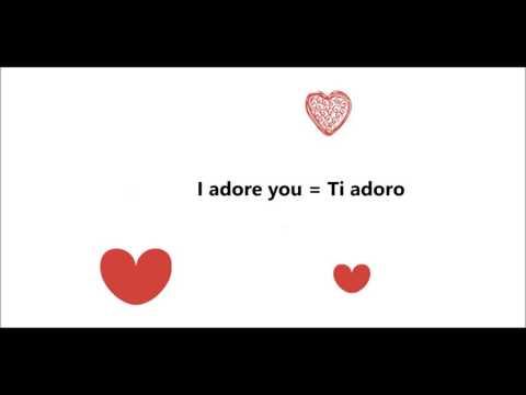 The most romantic Italian phrases