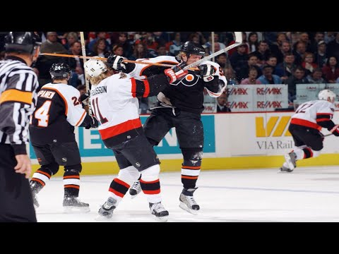 The Most Penalised NHL Game - The Flyers Senators Story
