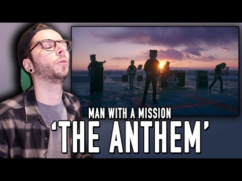 "MAN WITH A MISSION ""The Anthem"" REACTION!!!"