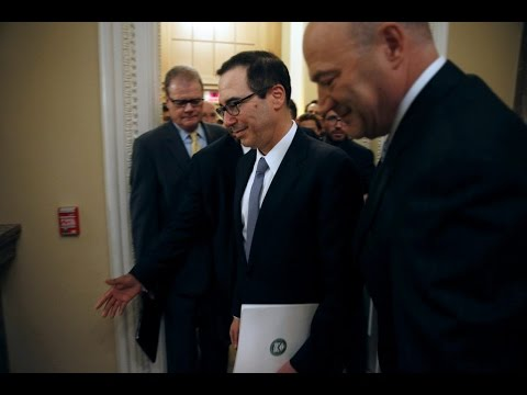 WATCH LIVE: Treasury Sec. Mnuchin and Trump economic chief Cohn hold White House news briefing