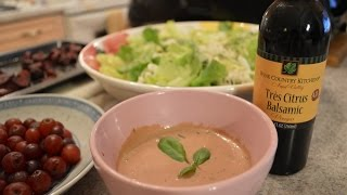 How To Make Napa Valley Creamy Citrus Balsamic Herbed Dressing: Cooking With Kimberly