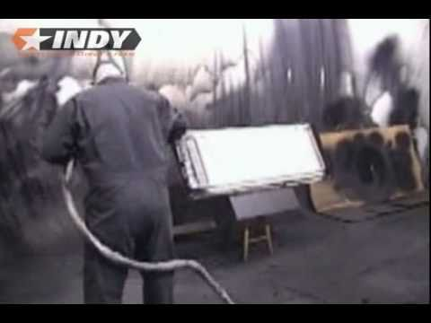 INDYLINER - Spray-On Truck Bedliner Demo With High Pressure Equipment