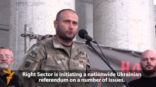 Right Sector Leader Declares