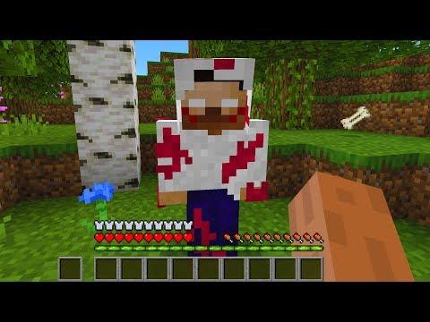 Herobrine the Killer found in Minecraft.. (Scary Minecraft Video)