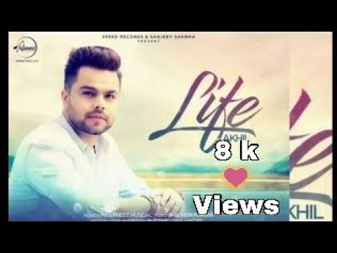 Life Official Karaoke Akhil Feat Adah Sharma Preet Hundal || Latest Punjabi Songs karaoke