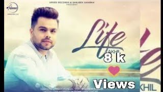 Life official karaoke akhil feat adah sharma preet hundal || latest punjabi songs karaoke