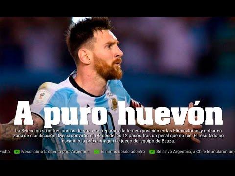 Revisa las portadas tras la amarga derrota de Chile