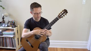 lesson: e major scales for classical guitar