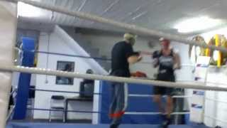 Andreas Sidon, Sparring mit Dennis Ronert