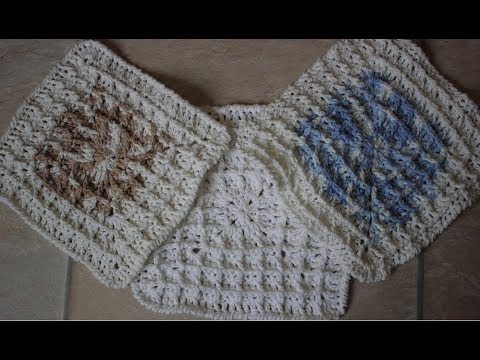 How To Crochet Square Waffle Stitch Youtube