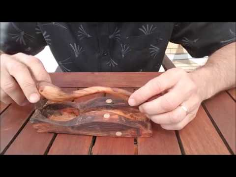 Carving a Wooden Spoon from Driftwood