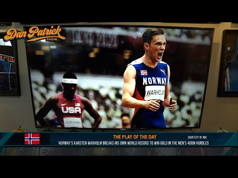 Play of the Day: Karsten Warholm Breaks Own World Record, Wins Gold In Men's 400m Hurdles | 08/03/21
