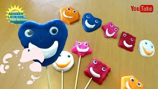 Learn Colours and Shapes Play Doh Shapes and Colors Learn Finger Educational  Fun for Kids Rise