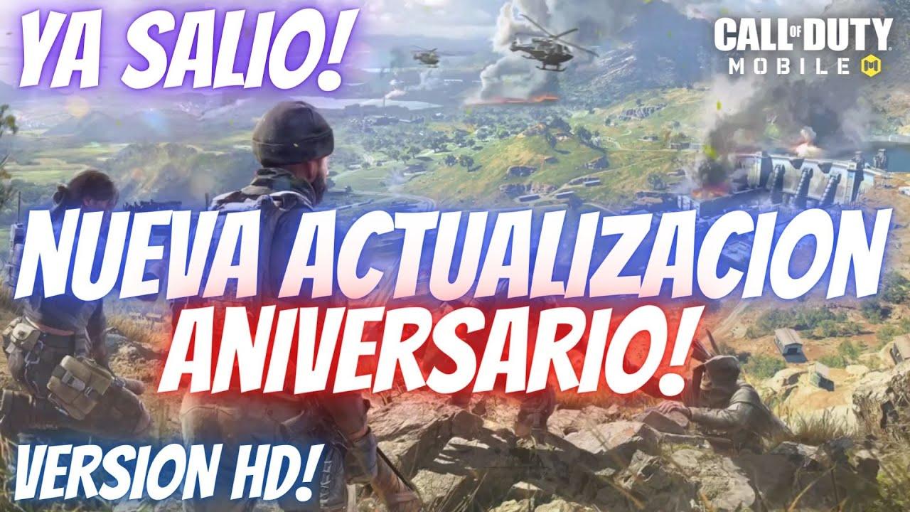 Download YA SALIO! NUEVA ACTUALIZACION ANIVERSARIO!   COD Mobile   DESCARGO VERSION HD! ¿EL FIN DE ISOLATED?