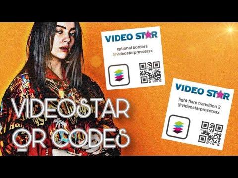 VideoStar Transition QR Codes!
