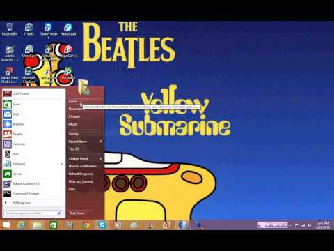 Video On Installing Classic Shell For Windows 8.1