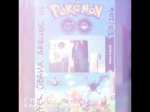 How Pres. Obama Arrives in Pokémon Go World!!
