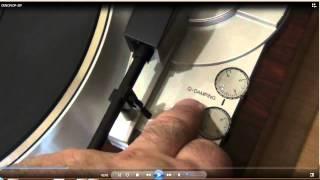 Налаштування тонарма (Додаток до відео про вертушці DENON DP-37F)