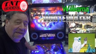 #864 Williams WHITEWATER Pinball Machine with new mods! TNT Amusements
