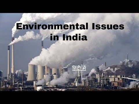 Environmental Issues in India विस्तार पूर्वक